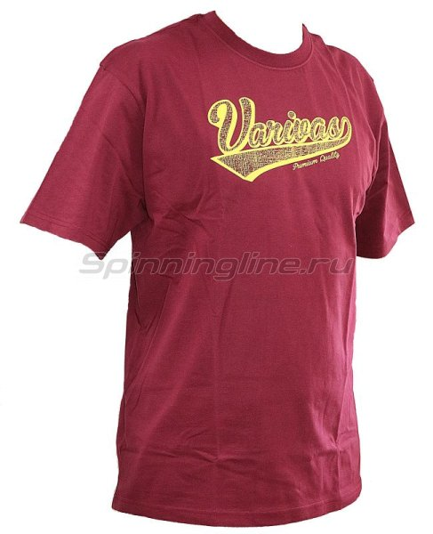 Футболка Varivas T-Shirts Burgundy XXL -  1
