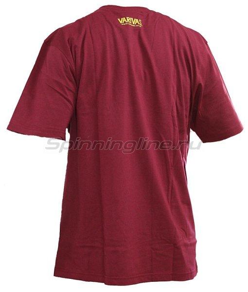 Футболка Varivas T-Shirts Burgundy XXL -  2