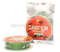 Шнур Sniper Braid Army Green 120м 0,203мм