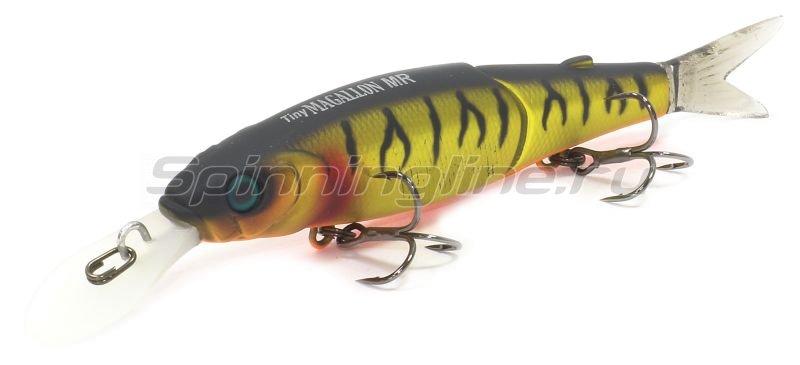 Воблер Jackall Tiny Magallon MR mat gold tiger -  1