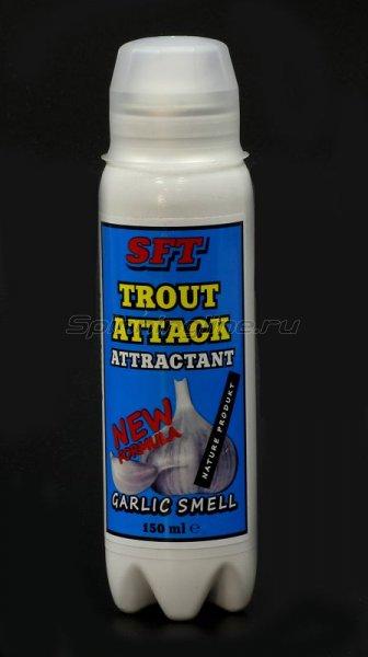 Спрей-аттрактант SFT Trout Attack чеснок -  1