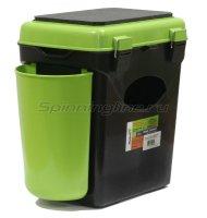 Ящик рыболовный зимний FishBox односекционный зеленый 10л