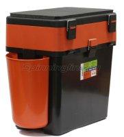 Ящик рыболовный зимний FishBox оранжевый 19л