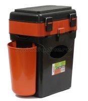 Ящик Helios рыболовный зимний FishBox оранжевый 10л