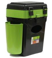 Ящик рыболовный зимний FishBox зеленый 10л