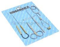 Набор инструментов для вязания мушек на блистере Kosadaka