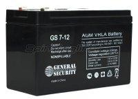 Аккумуляторная батарея General Security GS 7-12