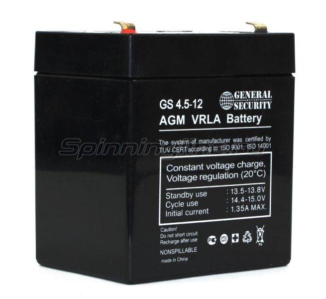 Аккумуляторная батарея General Security GS 4.5-12 -  1