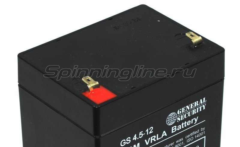 Аккумуляторная батарея General Security GS 4.5-12 -  2