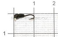 Мормышка Башмачок с отверстием d2.5 004 черный никель