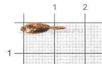 Мормышка Слезинка с ушком d3 003 медь