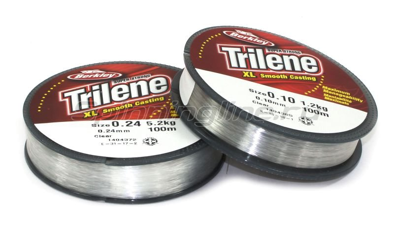 Леска Berkley Triline XL Smooth Casting 100м 0,24мм -  1