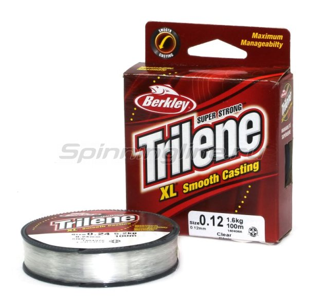 Леска Berkley Triline XL Smooth Casting 100м 0,24мм -  2