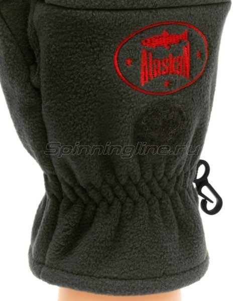 Перчатки-варежки Alaskan Colville L черный -  5