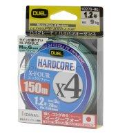 Шнур Hardcore X4 PE 150м 1.2 MilkyGreen