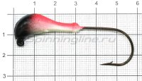 Мормышка судаковая Банан Светлячок 14гр 05 красный