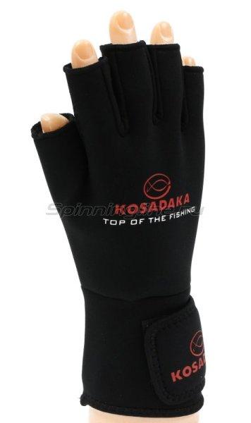 Перчатки Kosadaka неопреновые Fishing Gloves-17 L -  1