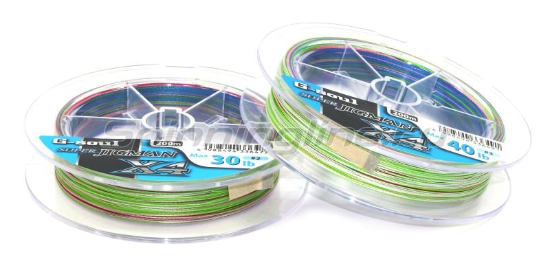 Шнур YGK Super Jig Man X4 200м 2.0 30lb -  2