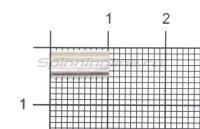 Обжимные трубочки Trabucco Crimps Oval Aluminium 1,4x2,8x10мм