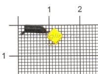 Мормышка True Weight Гвоздекубик d2 сырный кубик кр.hayabusa