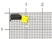 Мормышка True Weight Гвоздекубик d3 1гр сырный кубик кр.hayabusa