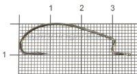 Крючок BS-2331BN Worm №2
