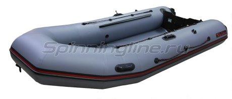 Лодка ПВХ Тайга-320 Киль New серый