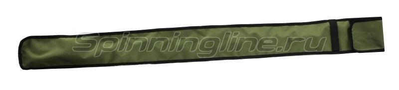 Чехол для удилищ IdeaFisher 140см зеленый -  1