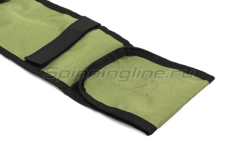 Чехол для удилищ IdeaFisher 140см зеленый -  3