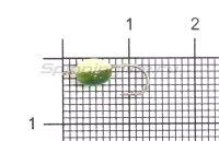 Мормышка светящаяся Shape Чечевичка №12 green flex