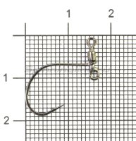 Крючок DS Hook Masubari Worm 123 №5