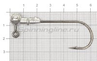 Джиг-головка Hitfish Round Jig 90 №6/0 10гр