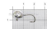 Джиг-головка Hitfish Micro Jig №2 3гр