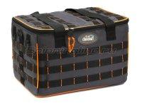 Сумка Следопыт Base Lure Bag XL с 5 коробками серая