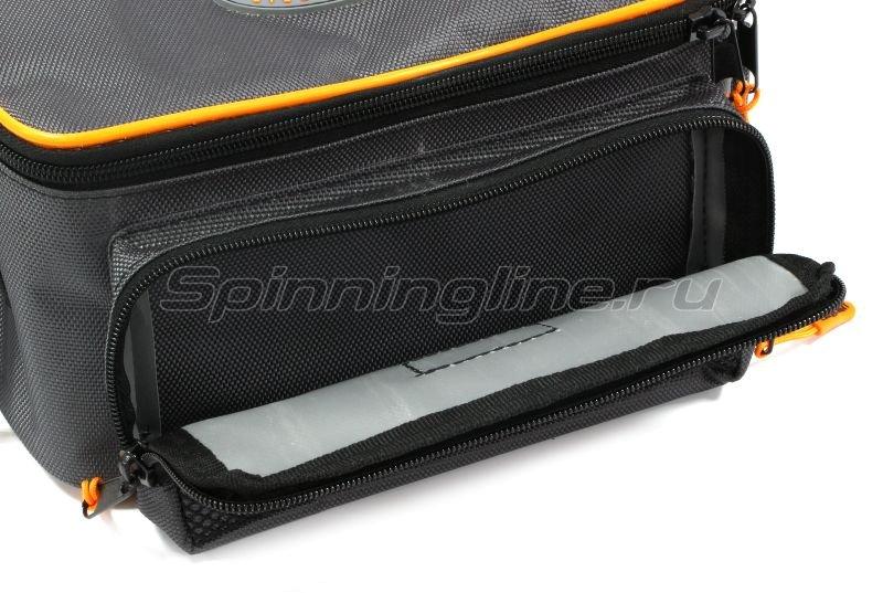 Сумка Следопыт Sling Lure Bag M с 3 коробками серая -  3