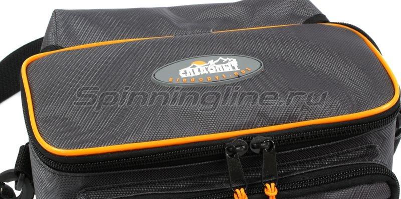 Сумка Следопыт Sling Lure Bag M с 3 коробками серая -  4