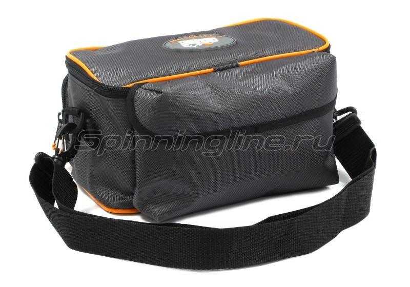 Сумка Следопыт Sling Lure Bag M с 3 коробками серая -  5
