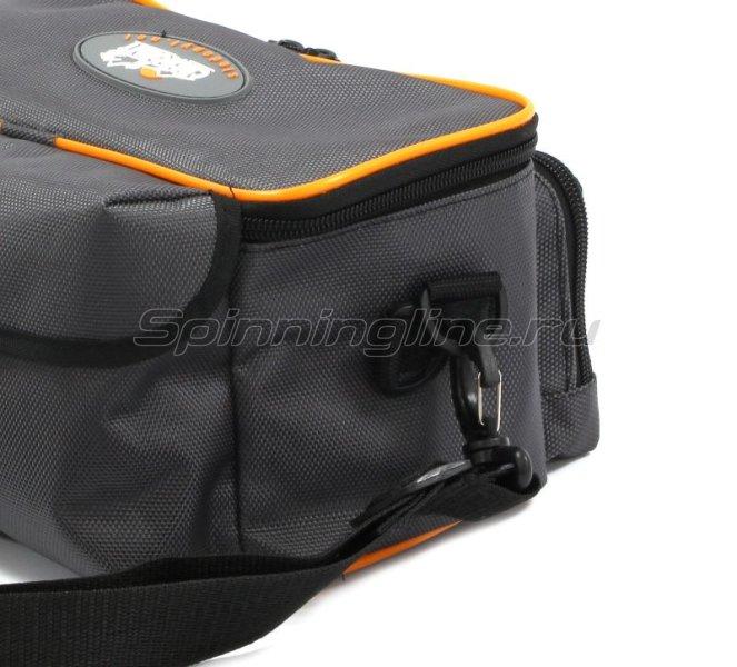 Сумка Следопыт Sling Lure Bag M с 3 коробками серая -  7