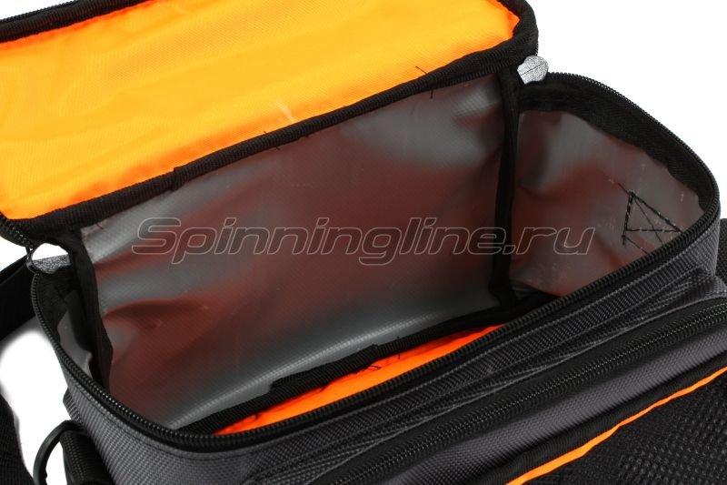 Сумка Следопыт Sling Lure Bag M с 3 коробками серая -  9