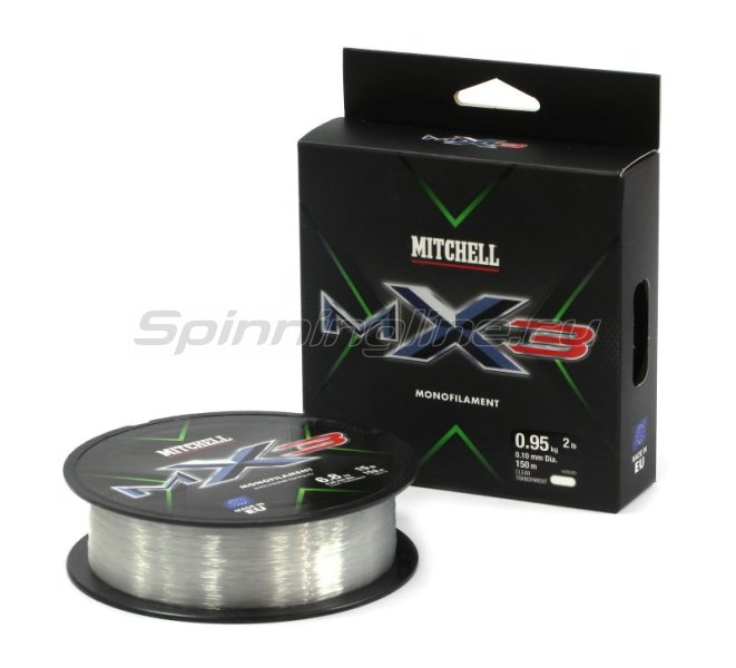 Леска Mitchell MX3 CLR Mono 150м 0,18мм -  1