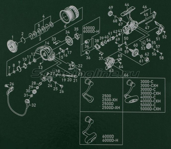 Катушка Daiwa Exceler 17 LT 3000D-C -  9
