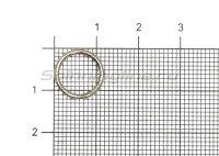 Кольцо заводное Shakespeare Split Ring №12