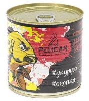 Запаренные злаки Pelican Кукуруза-Конопля, аромат клубника 430мл