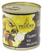 Запаренные злаки Pelican Пшено на молоке 430мл