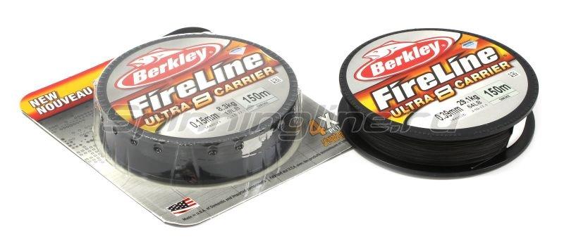 Шнур FireLine Ultra 8 Smoke 150м 0,15мм -  1