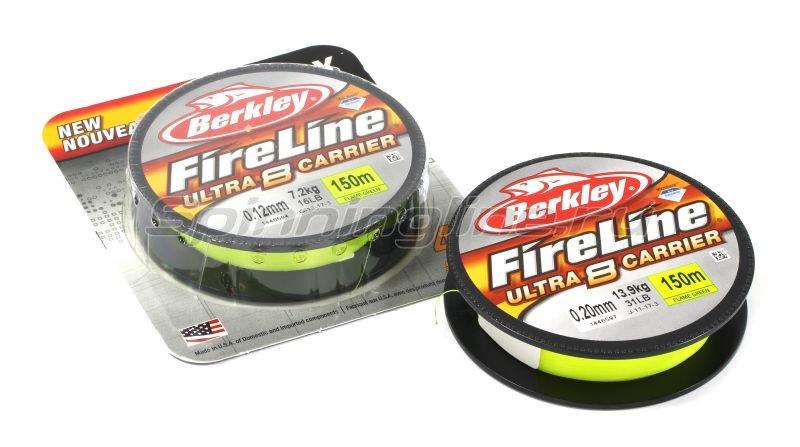 Шнур Berkley FireLine Ultra 8 Green 150м 0,12мм -  1