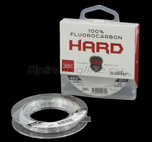 Флюорокарбон Lucky John Fluorocarbon Hard 30м 0,23мм -  1