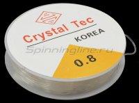 Фидерная резина Rosy Dawn Feeder Crystal Tec 10м 0,80мм