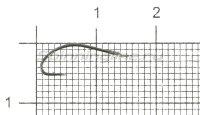 Крючок Akitakitune с поводком №8 0,165мм 60см