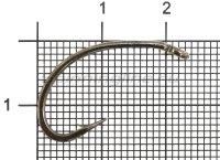 Крючок Sting Curved Shank S-1141 №4 BN